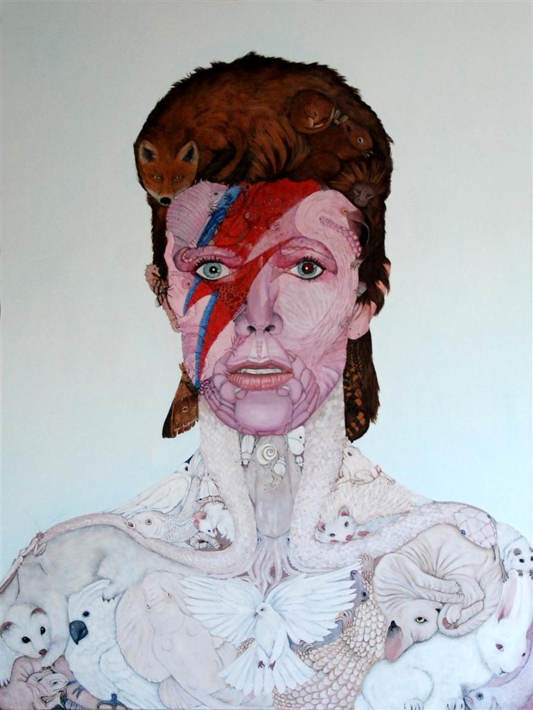Anthropomorphic Bowie