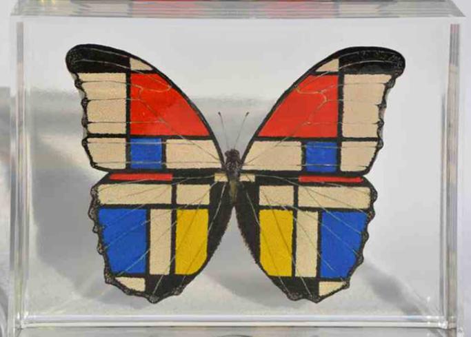 Mondrian Butterfly