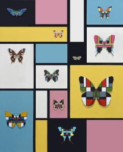 Mondrian Butterflies