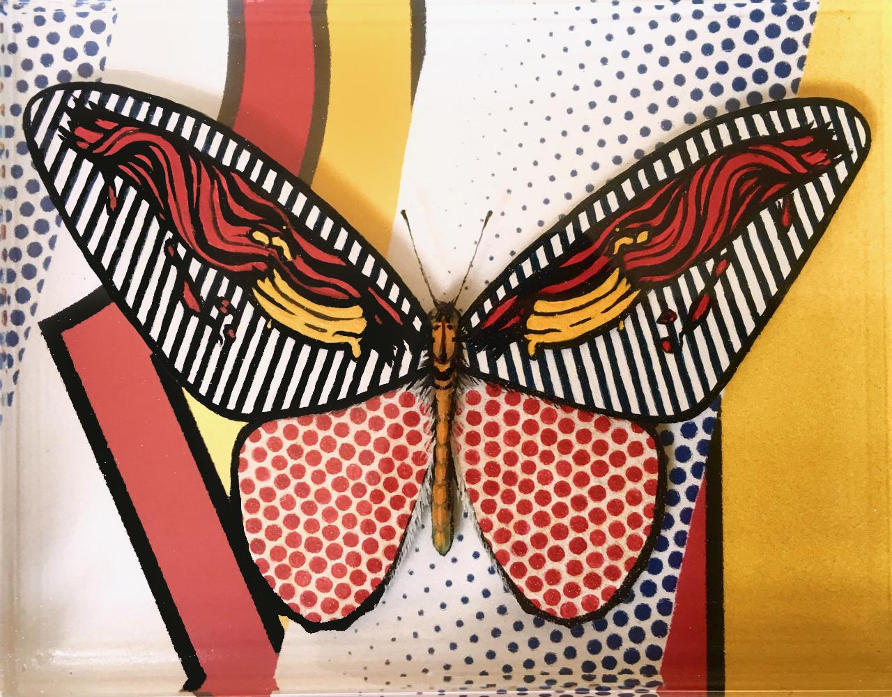 Pop Art Butterfly