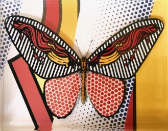 Pop Art Butterfly