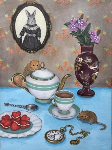 Dormice Tea Party